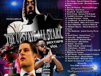 The Upstate Allstarz Hip Hop and R&B Mixtape Vol.13