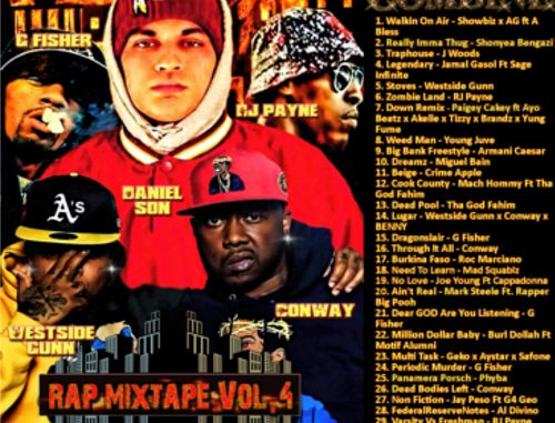 The Music Combine Rap Edition Mixtape Vol 4 Cover