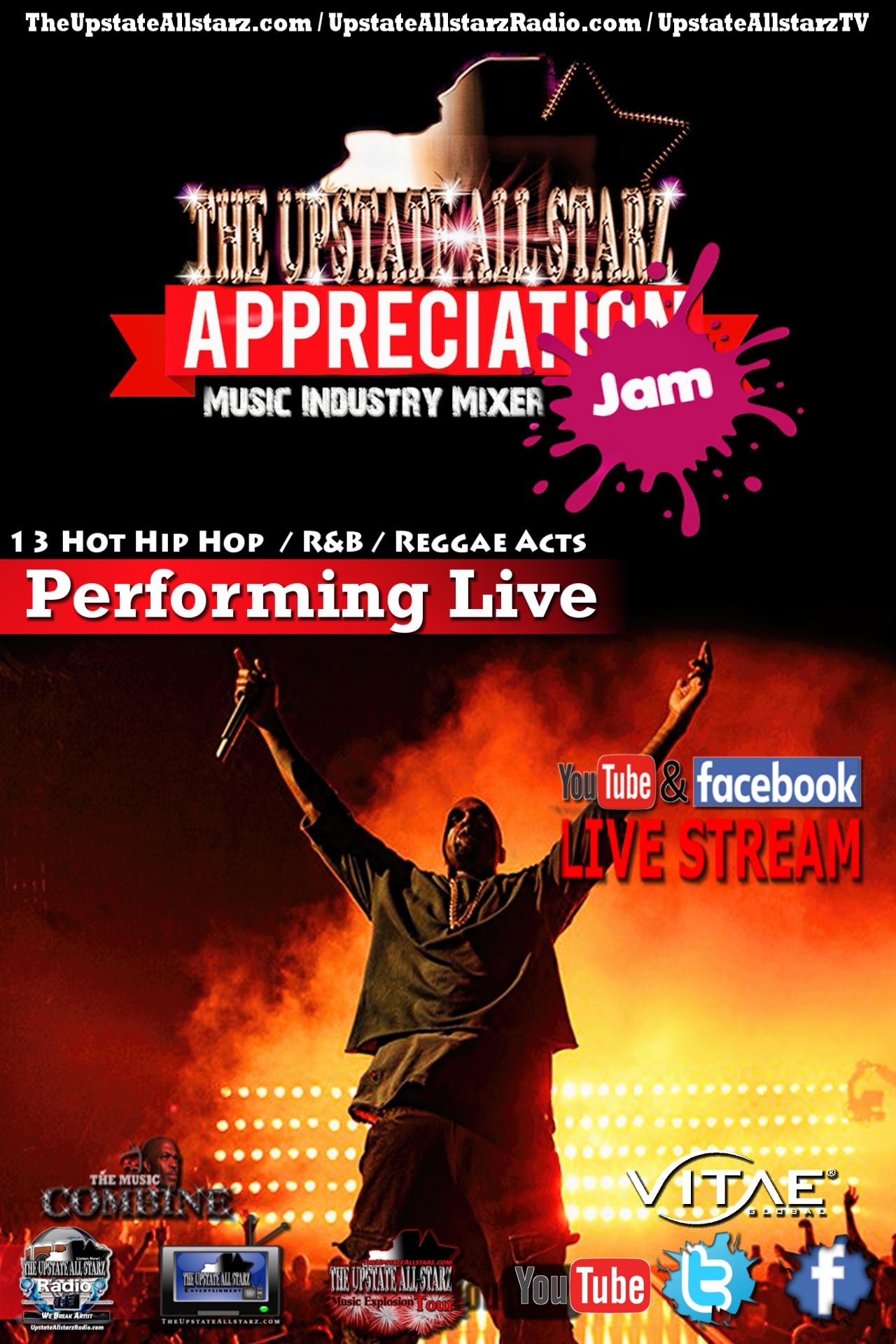 Upstate Allstarz Appreciation Jam / Music Industry Mixer