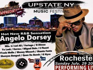 Apppreciation Jam Music Fest Feat Angelo Dorsey