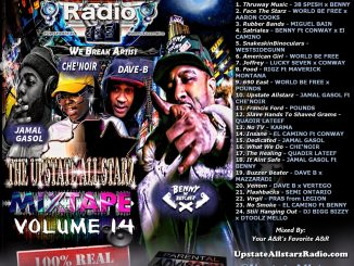 Upstate Allstarz Mixtape Vol .14 - UpstateAllstarzRadio