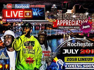 UpstateAllstarzRadio Appreciation Jam Rochester NY 2018