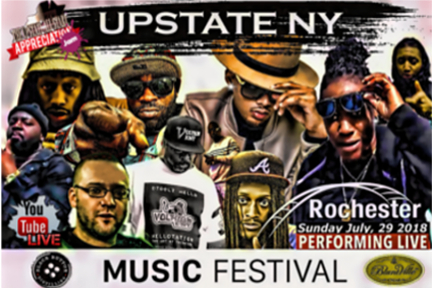 Upstate NY Music Fest July 29 Rochester NY