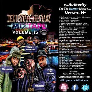 The Upstate Allstarz Mixtape Vol. 15