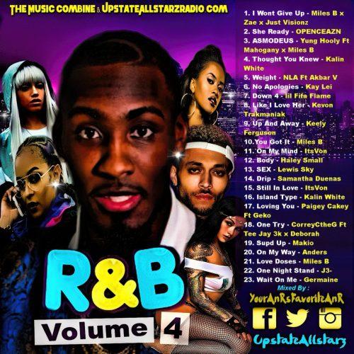 The Music Combine R&B Mixtape Vol 4